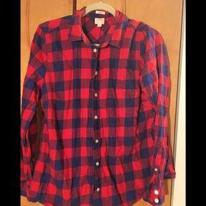 J crew lightweight flannel
